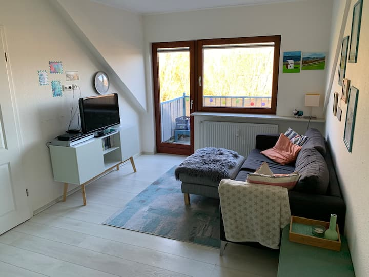 Schicke und familienfreundliche Wohnung mit Rädern