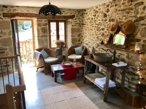 Gîte de caractère - Bord de la Dordogne