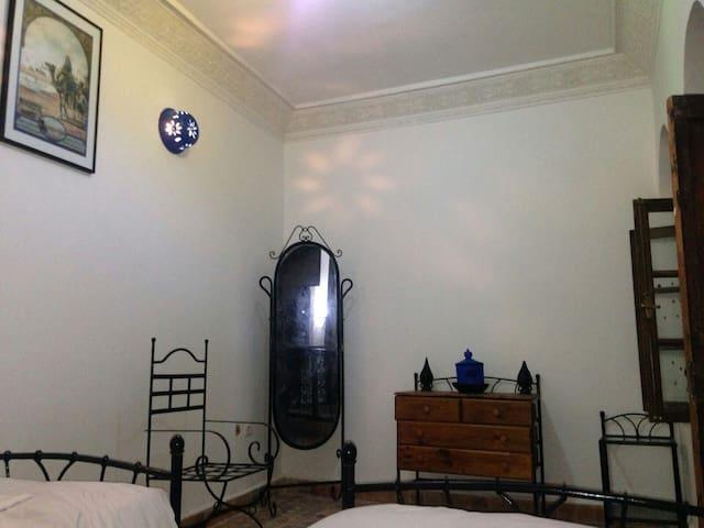 Location deux chambres riad typique - Rabat  - Hus