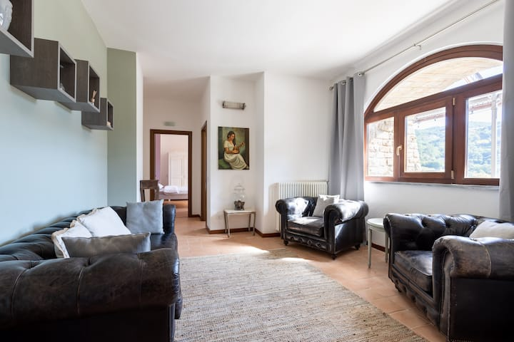Large two bedroom apartment in converted castle