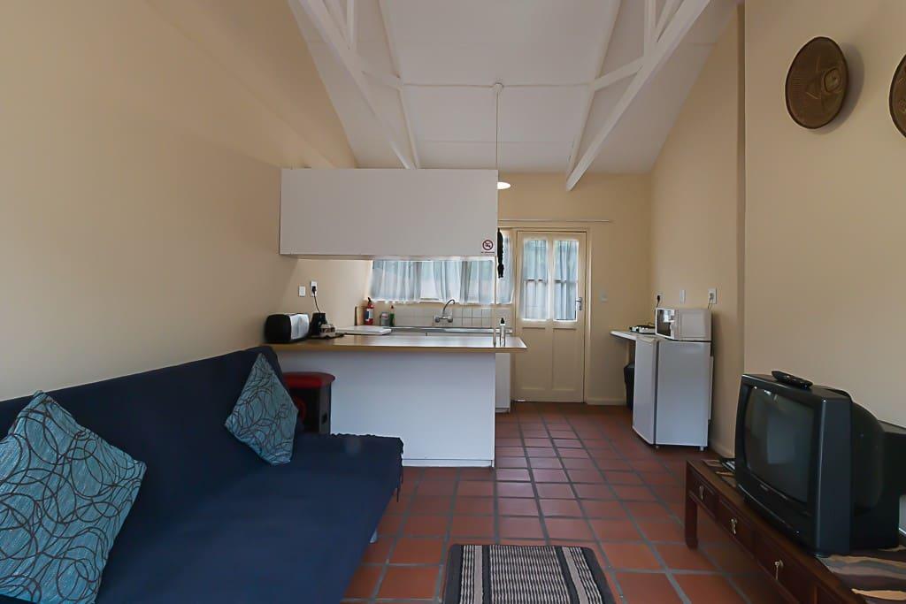 Chalet 6 - Open plan kitchen/ diner/ lounge