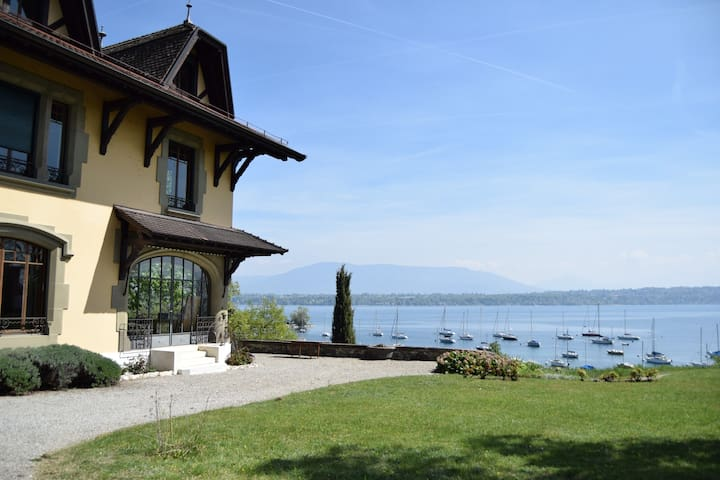 Villa on Lake Geneva - Genthod - Villa