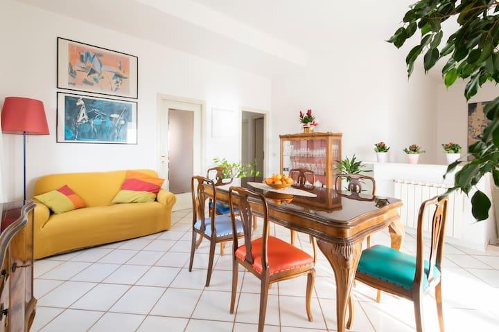 """""""Il Nido"""" appartamento vista mare a Montiano"""