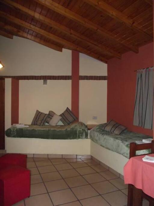 Habitación doble - dos camas individuales