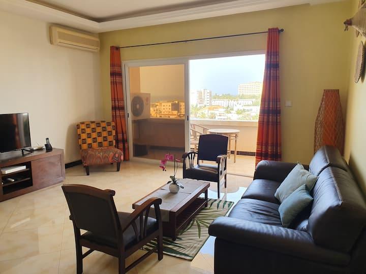 Appartement 4 pièces lumineux et spacieux à Ngor