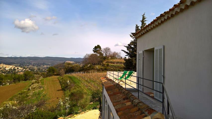 Villadoli le Belvédère: Studio et grande terrasse - La Cadière-d'Azur