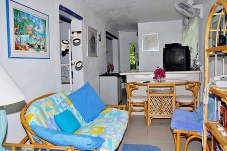 5 minute walk to Cruz Bay, Quiet Studio Apartment. - Cruz Bay - Διαμέρισμα