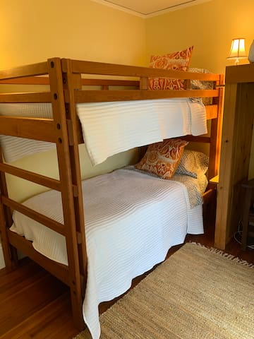 Second bedroom with bunks beds