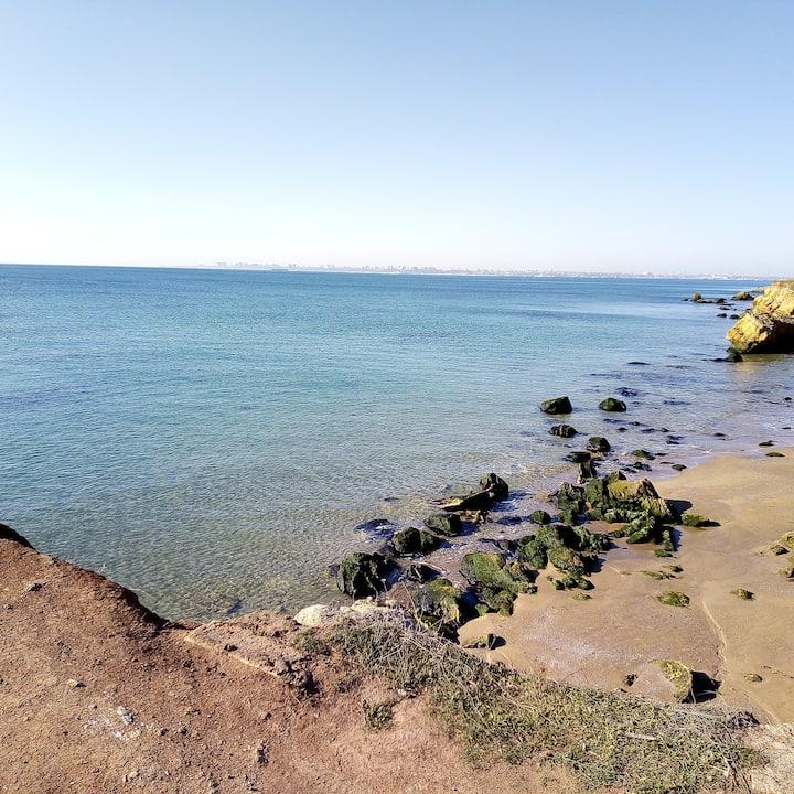 Отдых с видом на море.