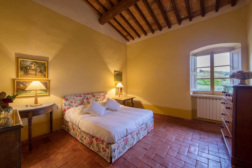 Fattoria Mandri 5 Main bed room