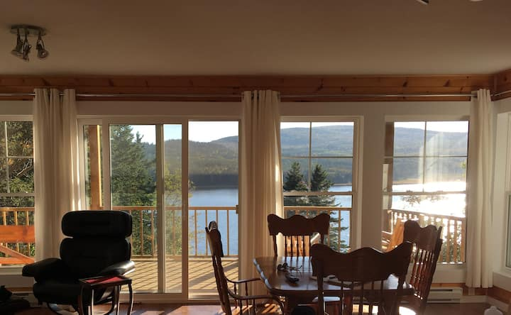 Cottage on Margaree River just 2 km from the Ocean