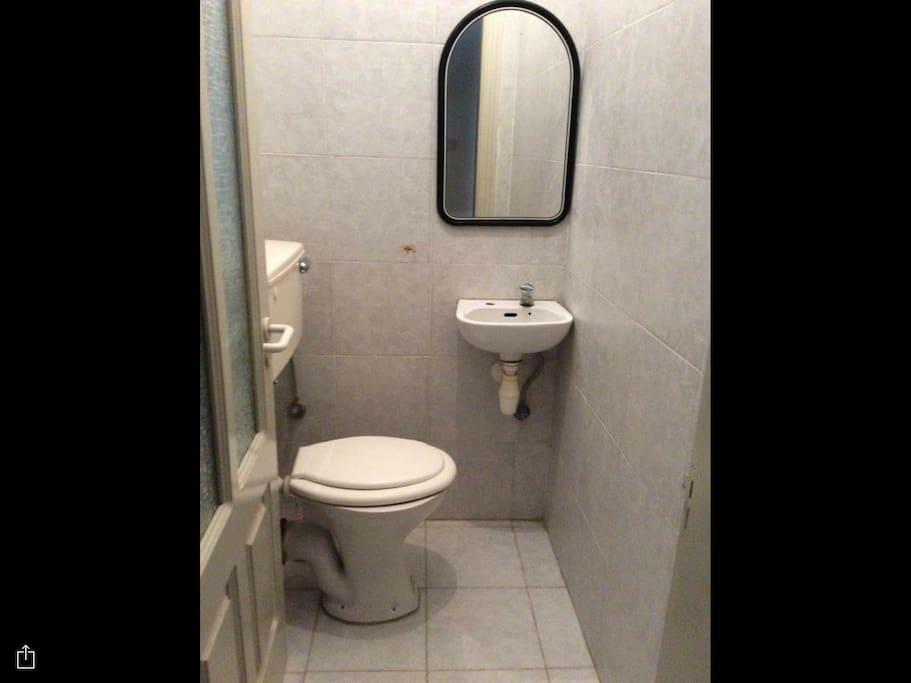 Small half bath
