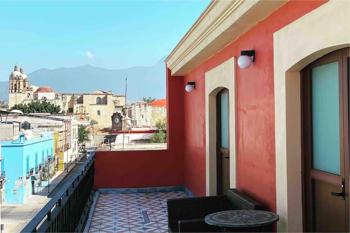 Habitación con la mejor vista de Oaxaca!