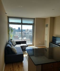 Well located Printers Row one bedroom apartment - Apartment
