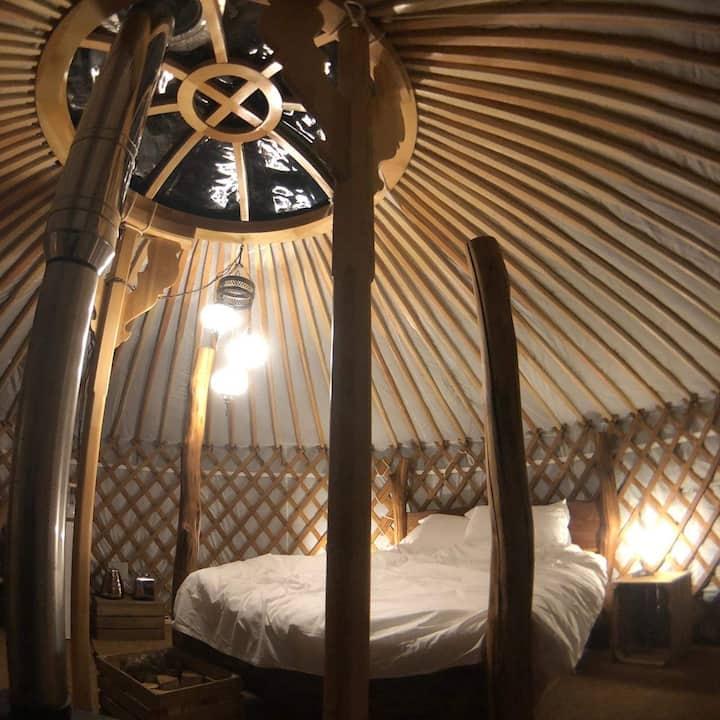 Cherish Glamping Curlew Yurt