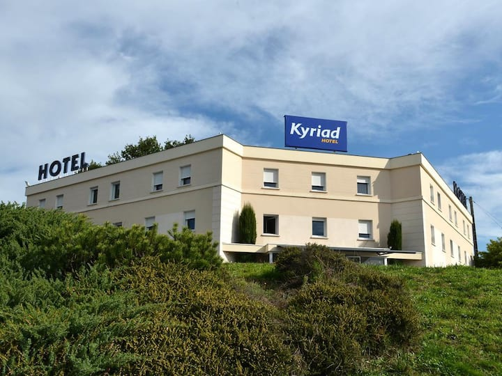 Chambre Hôtel Kyriad Brive Ouest