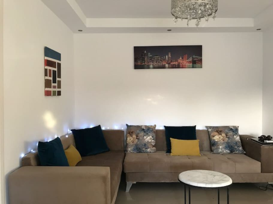Living room during daytime