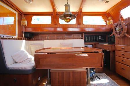 BOAT and BREAKFAST / vivi a bordo di una barca !! - Muggia