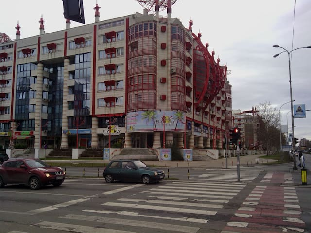 Studio /Bul. Mihaila Pupina in Novi Belgrade/YUBIC