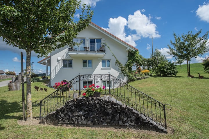 Holiday Apartment 'Buche' with Wi-Fi, Mountain View, Terrace & Garden; Parking Available