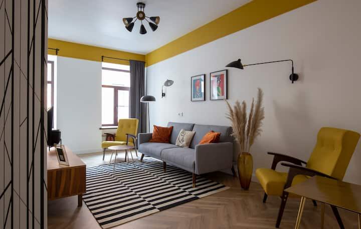 Уютная квартира в 5 минутах от Исаакиевского
