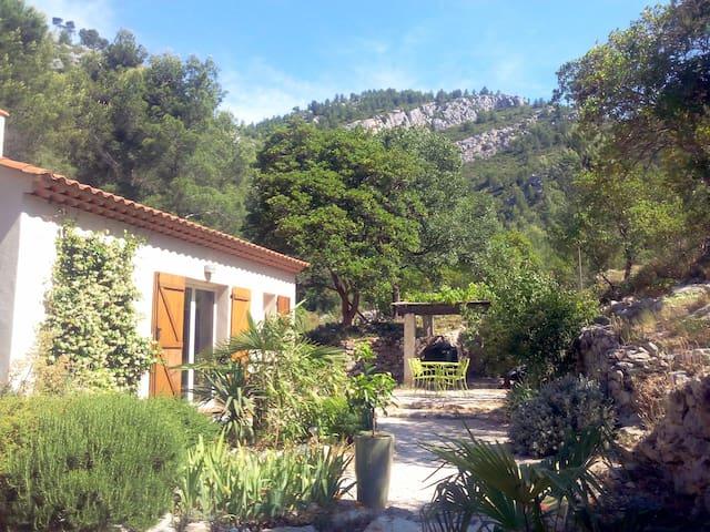Mas provençal proche calanques/mer - Cuges-les-Pins - Casa