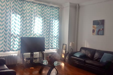 Spacious brownstone apt near attractions, transit! - Baltimore - Apartment