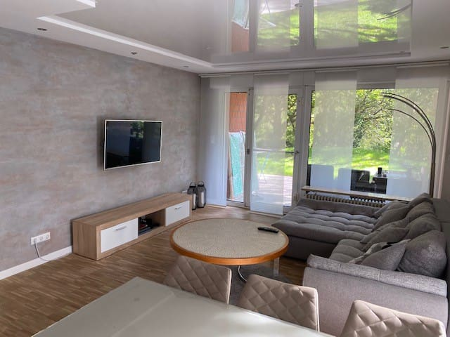 Exclusive apartment with terrace.Messe 15 min away