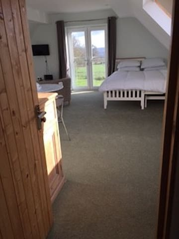 Countryside studio accommodation - West Monkton - Overig