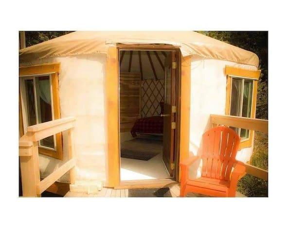 West Coast Yurt Retreat