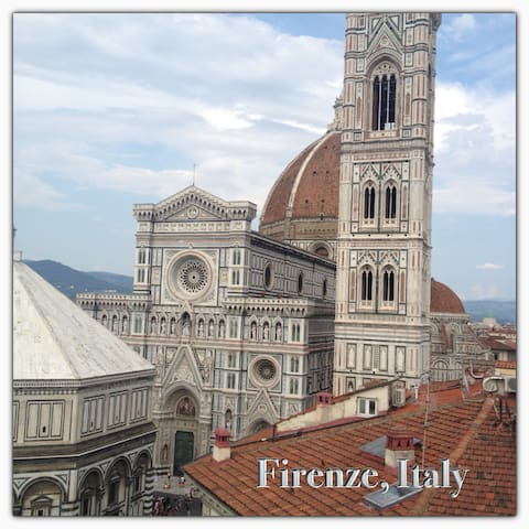 Florence Center 1 minute from Duomo - Florence - Appartement