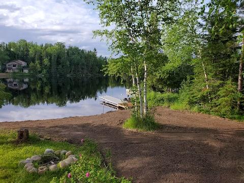 One Island Lake Camp