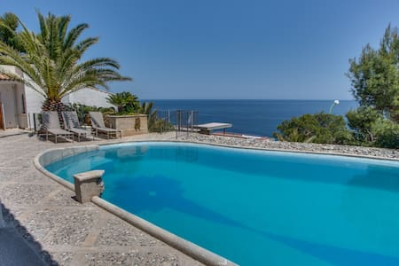 Ran de Mar - nice sea viewvilla with pool - Font de Sa Cala