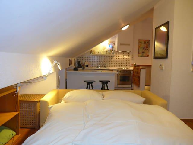 Modernes, gut ausgestattetes Dachzimmer - Gilching - Dům