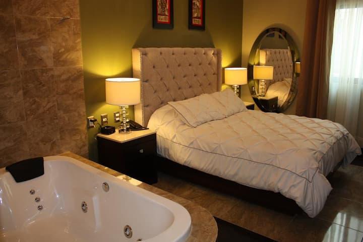 Acogedora habitación con Jacuzzi,Querétaro Centro7