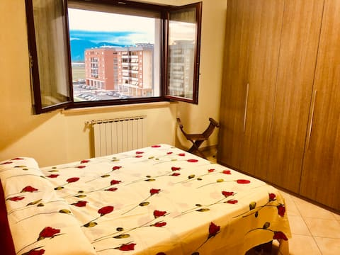 Cozy two-room apartment, 1 km from the center, well served