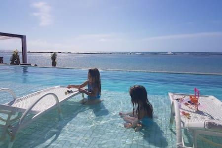 Cond. Barra Bali - Frente ao Mar - Sem extresse