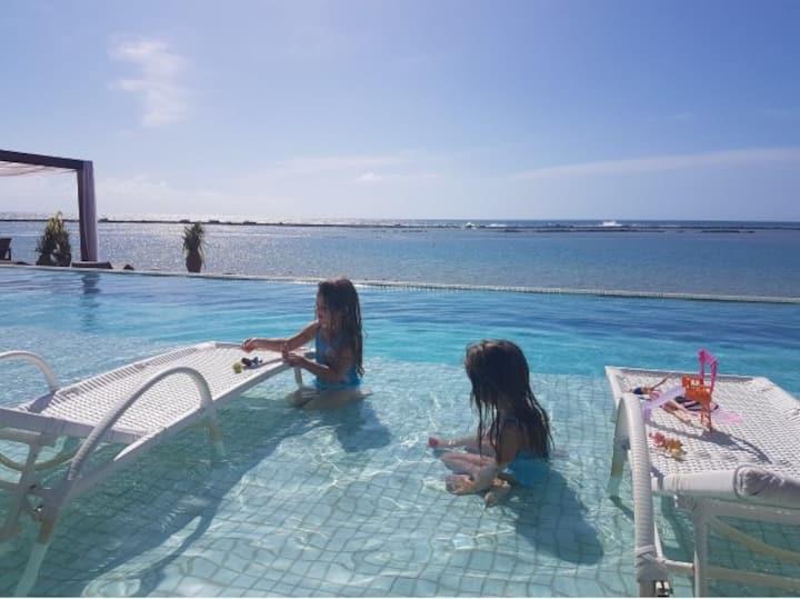 Cond. Barra Bali - Frente ao Mar - Sem estresse