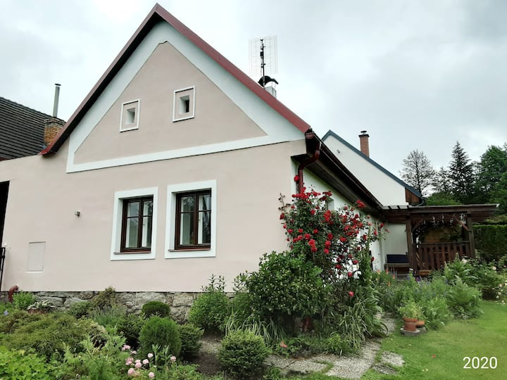 South Bohemian house with gardens