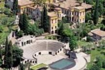 Il Vittoriale a Gardone Riviera