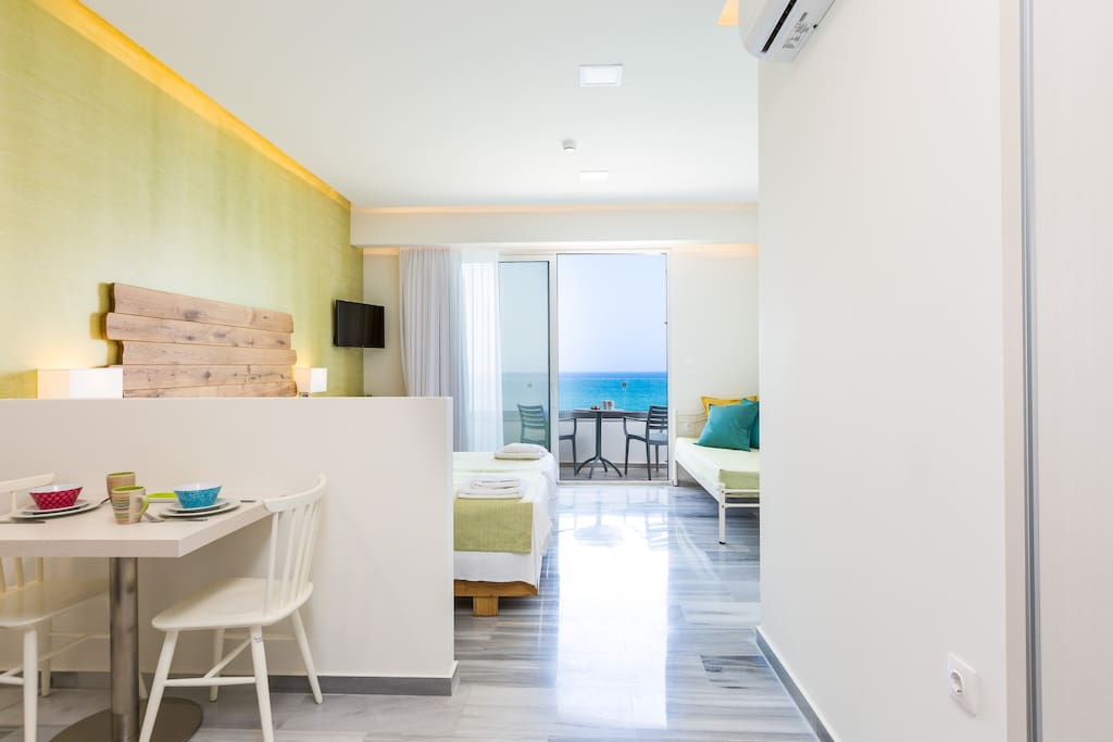 Suite highlight: Spacious and colourfull