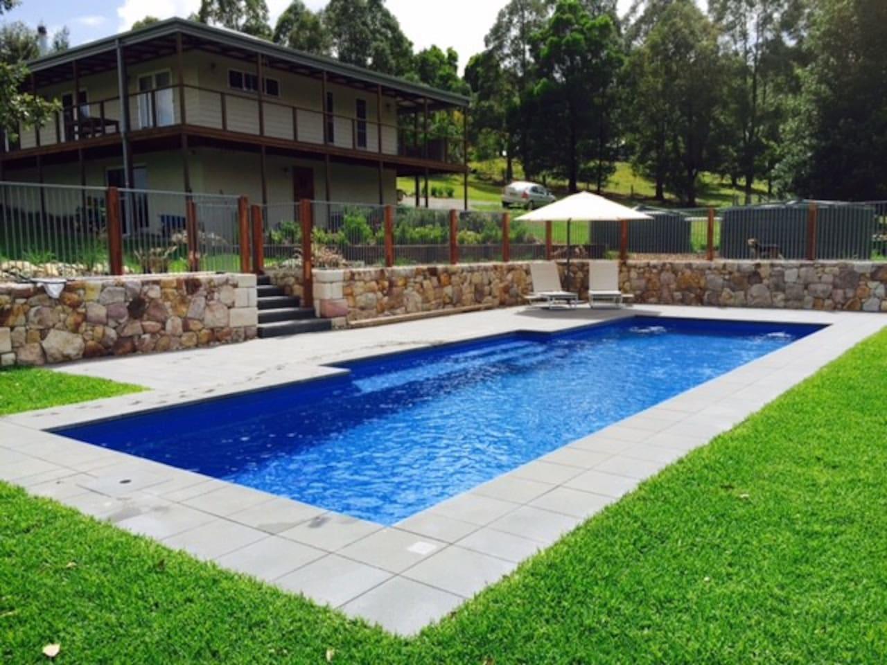 12m Saltwater Pool