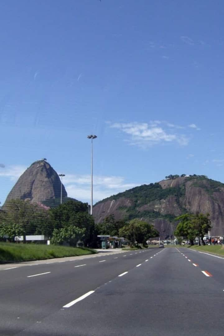 Sugar Loaf from Tropical Central Park