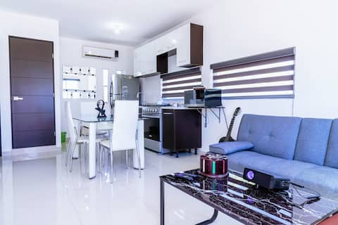 Brand New Modern Apartment next to Sinaloa Park