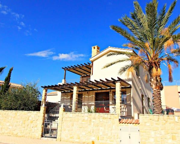 Private Sandy Beach - Exclusive Luxury Villa - Argaka - Villa