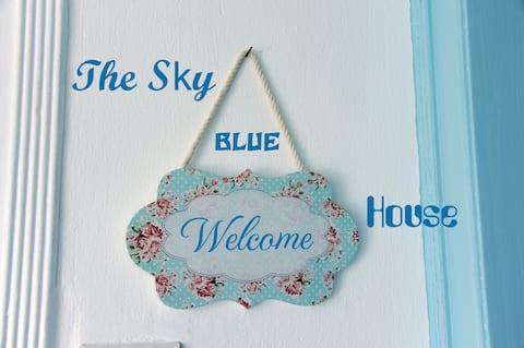Modrý dom Sky. Pôsobivý výhľad