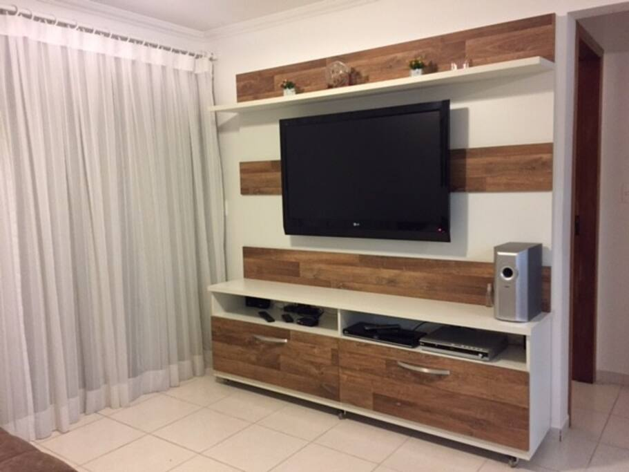 Rack Sala (TV LED e Home Theater)