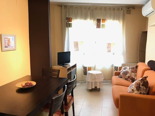 Apartamento 1 habitación y cocina americana.