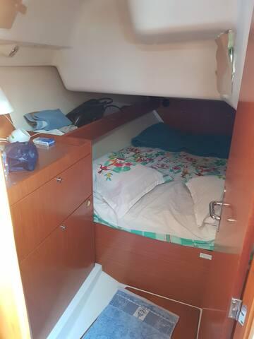 Votre chambre côte tribord