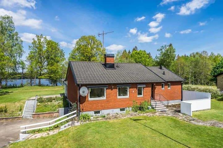 Villa med utsikt över Tovhultssjö